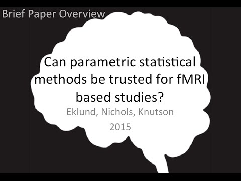 Paper overview: Can parametric statistical methods be trusted?