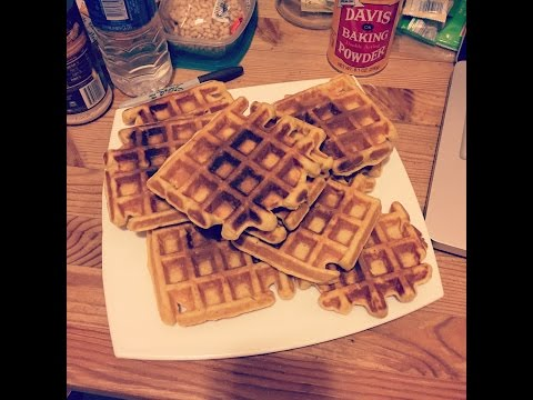 How to Make: Sweet Potato Waffles