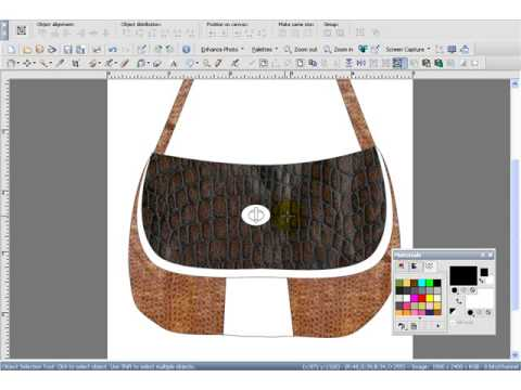 Design Handbags - using Digital Fashion Pro