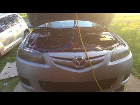 Vacuum & Charging the ac in a 2008 Mazda 6