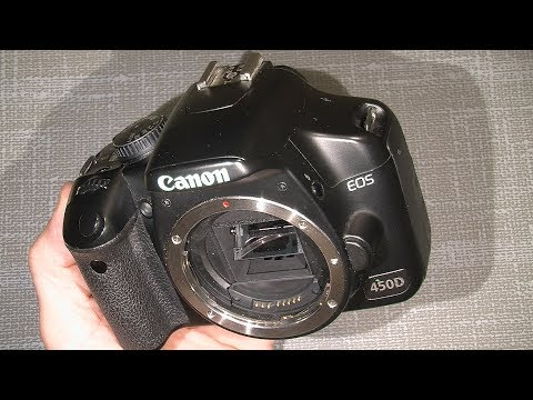 Broken shutter in Canon EOS 450D  DISASSEMBLE  ONLY