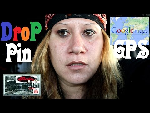 How To Drop Pins & GPS Locations - Google Maps