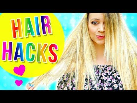 6 HAIR HACKS for FLIRTWORTHY HAIR!!!