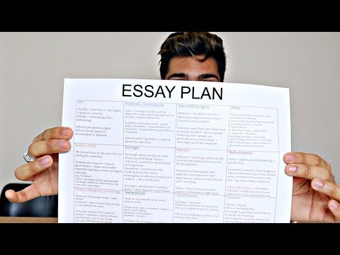 How To Make My A* Essay Plans! THIS WILL CHANGE YOUR REVISION!