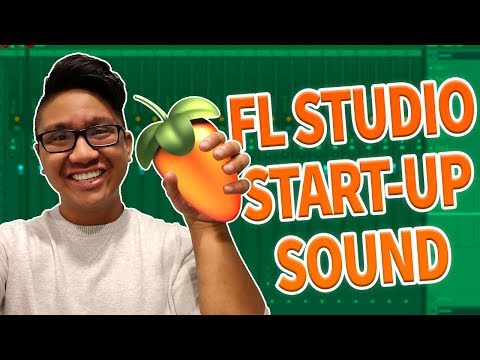 MAKING A CRAZY BEAT USING THE FL STUDIO START-UP SOUND!