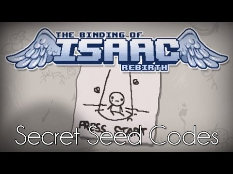 Binding Of Isaac: Rebirth Secret Seed Codes/Special Seed Codes
