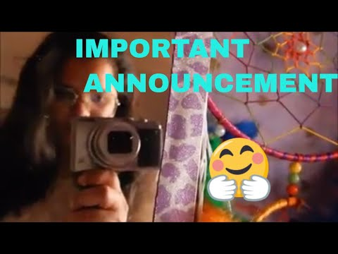 IMPORTANT ANNOUNCEMENT #VLOG 1 | all about skin and makeup