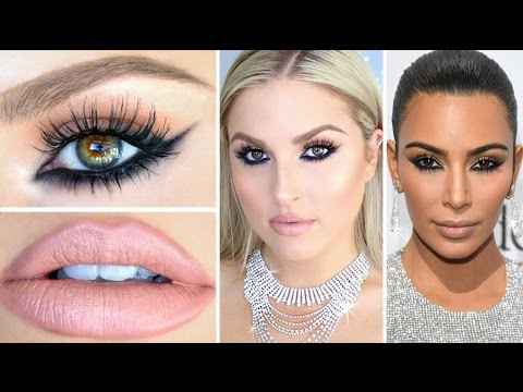 Kim Kardashian Inspired Makeup! ♡ Reverse Smokey Eye Tutorial!