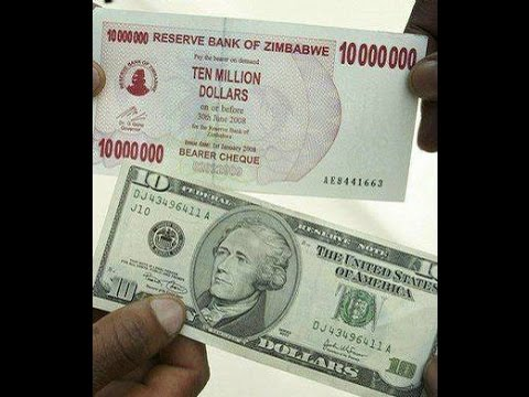 Zimbabwe Dollar Proof Of Revaluation