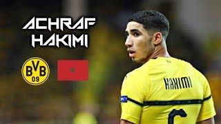 Achraf Hakimi 2019 - Amazing Defensive Skills Runs & Goals - Borussia Dortmund \ اشرف حكيمي