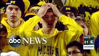 Michigan Football Fans Outraged by Punter