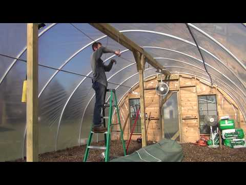 Challenges of Starting Seedlings in a Hoop House