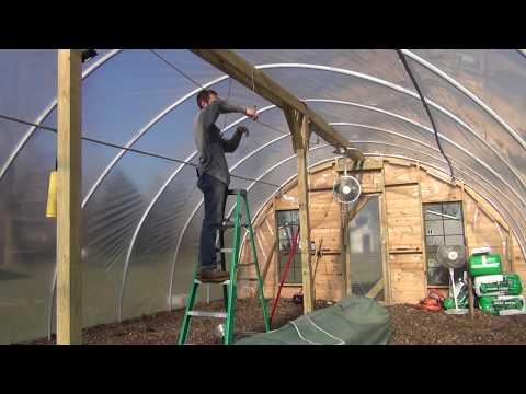 Challenges of Starting Seedlings in a Hoop House