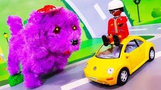 Download Мультики про машинки. Видео про игрушки - собачку и желтую машинку. Мультфильмы для детей Video