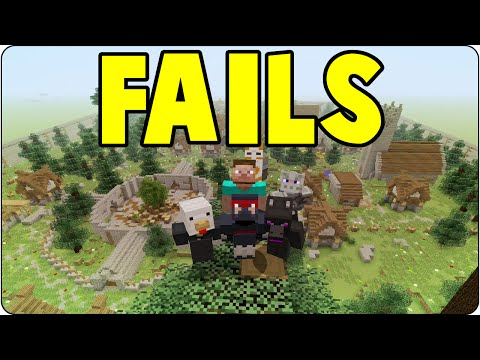 Minecraft PS3 & PS4 HUNGER GAMES FAILS - Funny Moments Compilation - Console Edition Gameplay