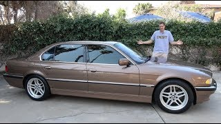 Here's Why the 2001 BMW 7 Series Is the Best Luxury Sedan Ever