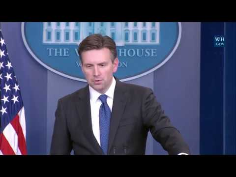 1/9/17: White House Press Briefing