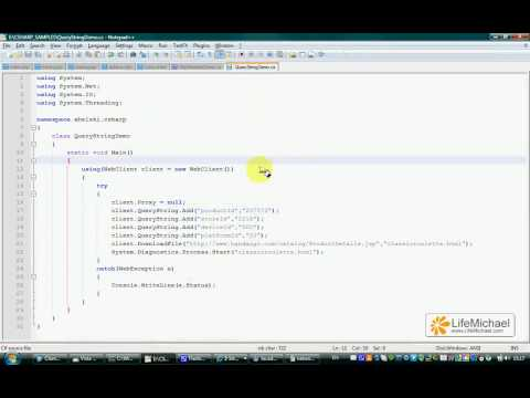 C# WebClient & Query String