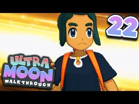 Pokémon Ultra Sun and Ultra Moon Walkthrough - Part 22: Pokémon League CHAMPION battle!