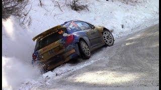 Rallye Monte Carlo 2018 PREVIEW | CRASH, MISTAKES & SHOW [HD]
