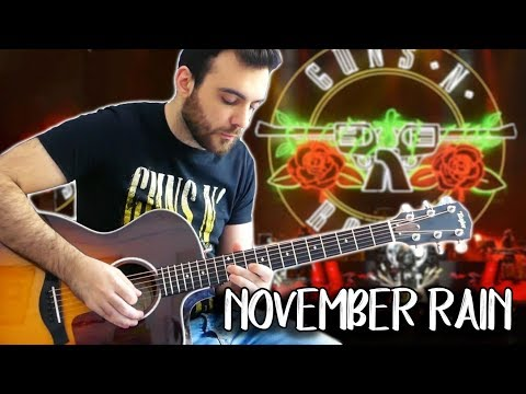 November Rain  - Acoustic Guitar Solo