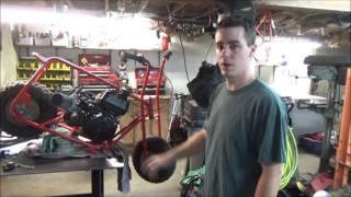 Baja Dirt Bug Predator 212cc Swap (FAST Mini Bike   Power Wheelies