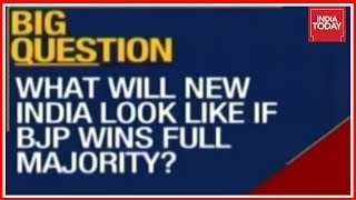 What Will New India Look Like If Bjp Wins Majority Big Picture Debate With Rahul Kanwal