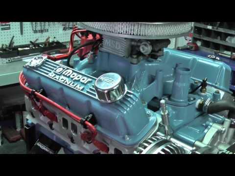 SB Chrysler 360 475HP Crate Engine