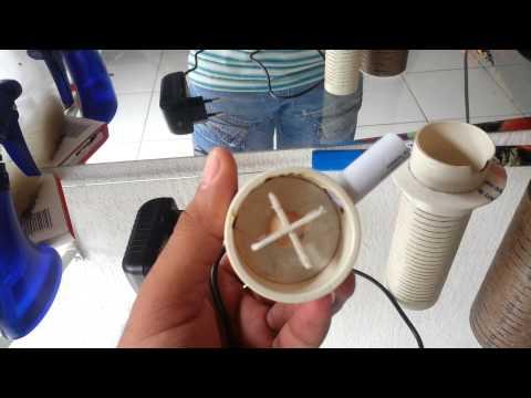 Bomba e filtro caseiro para aquários!
