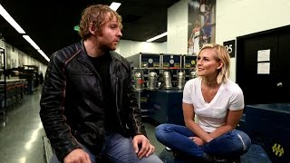 Dean Ambrose is fined for using nunchucks, only on WWE Network