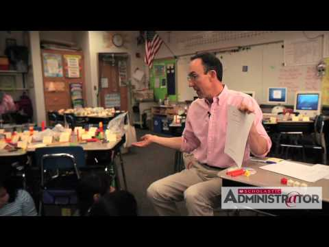 Fraction Lesson: teach your class fractions with Math Man