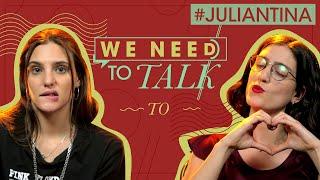Macarena Achaga awkward interview | We Need To Talk