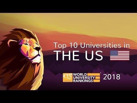 The Top 10 Universities in the US 2018