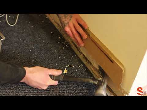 How to Remove Skirting Board