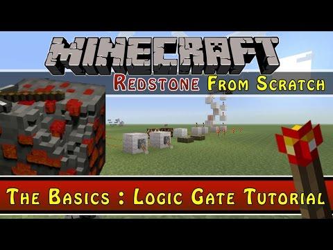 Minecraft :: All Logic Gates Tutorial :: Redstone From Scratch Ep2