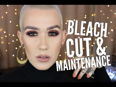 All About My Hair: Bleaching, Toning & Cut Demo + Hair Care & Styliying