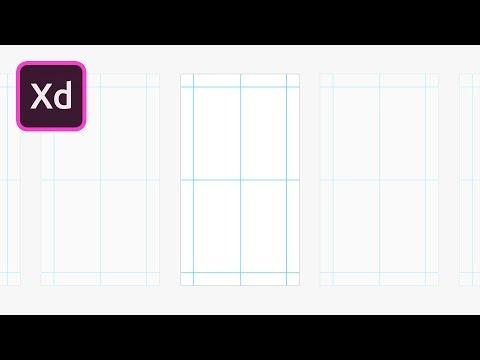Create Guides in Adobe XD | 2 Minute Tutorial