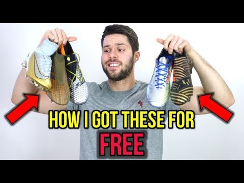 DO I GET ALL MY SOCCER CLEATS FOR FREE?