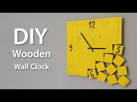 How To Make A Modern Wooden Clock | DIY Project