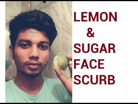 Homemade Face Scrub | Lemon Honey and Sugar Scrub | Exfoliating Face Scrub