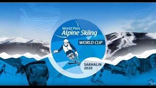 Run 1 Giant Slalom Race Day 6 Juzhno Sakhalinsk 2020 World Para Alpine World Cup