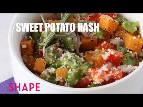 Breakfast Mug Recipes: Sweet Potato Hash