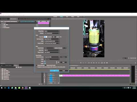 How to create a Horizontal video from Vertical photos in Premiere Pro
