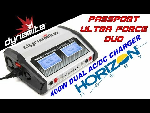 Dynamite Passport Duo 400W Dual AC/DC Touch Charger UNBOXING REVIEW