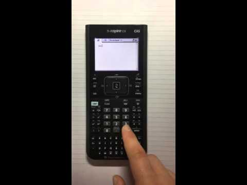 How to use the absolute value on the Ti-nspire cx CAS