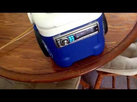 Solar Cooler boom-box