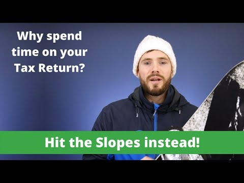 Canada Tax Refunds for Non-Residents [Snowboard Edition]