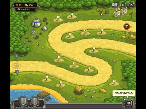 Kingdom Rush:KILL 10 or more sheep with your hands