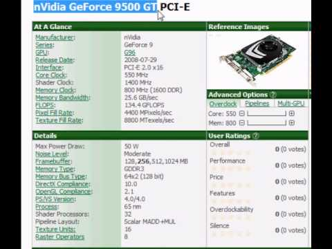 Nvidia Geforce 9500gt 1gb review