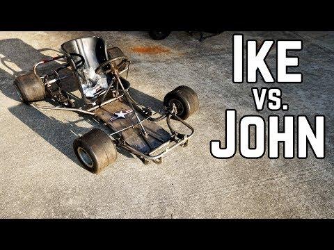 Mini Go Kart Build Off (and a Crash)!
